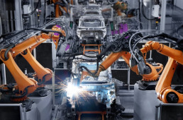 Blog banner automobile production line
