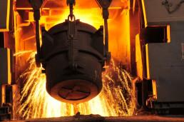 metal melting ladle