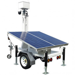 MVT-3002 Light Weight Surveillance Trailer
