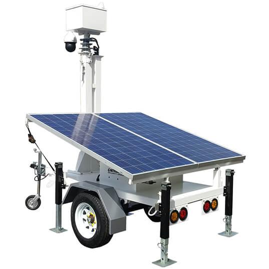 MVT-3002 Light Weight Surveillance Trailer