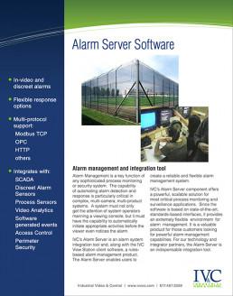 IVCC Alarm Server Software PDF