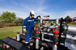 Physical Inspection of oil and gas infrastructure