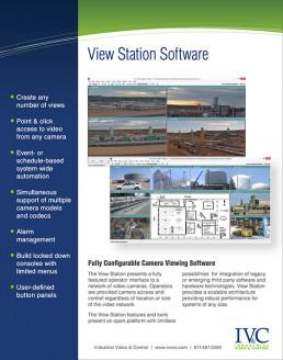 IVCC View Station Software Information PDF